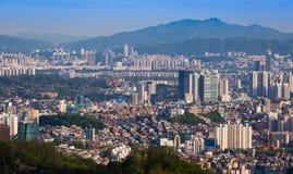 Horizon de ville de Séoul Images stock