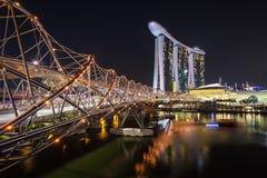 Horizon de ville de Singapour Image stock