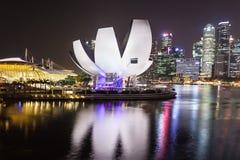 Horizon de ville de Singapour Photo stock
