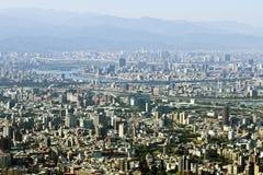 Horizon de ville de Taïpeh photographie stock