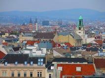 Horizon de ville de Vienne photos libres de droits