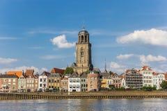 Horizon de ville historique Deventer photos libres de droits