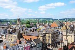 Horizon de ville, Oxford Photo libre de droits
