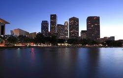horizon de visibilité directe d'Angeles photos stock