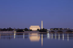 Horizon de Washington DC Image stock