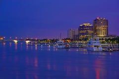 Horizon de West Palm Beach Images stock