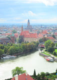 Horizon de Wroclaw photo libre de droits