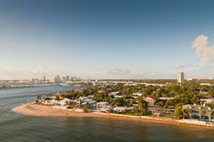 Horizon du bord de mer du Fort Lauderdale, la Floride, Etats-Unis images libres de droits