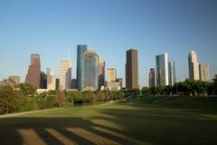 Horizon du centre de Houston Image libre de droits