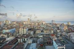 Horizon du centre de La Havane, Cuba photo libre de droits
