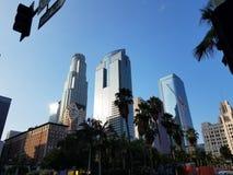 Horizon du centre de Los Angeles photo libre de droits