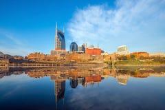 Horizon du centre de Nashville, Tennessee photo libre de droits
