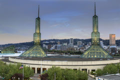 Horizon du centre de Portland Orégon photo libre de droits