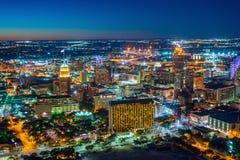 Horizon du centre de San Antonio photos stock