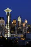 Horizon du centre de Seattle Image libre de droits
