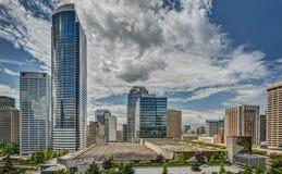 Horizon du centre de Seattle Photo stock