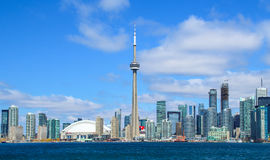 Horizon du centre de Toronto images stock
