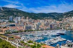 Horizon du Monaco Image libre de droits