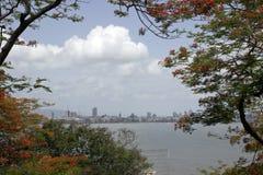 Horizon du sud de Mumbai Images libres de droits