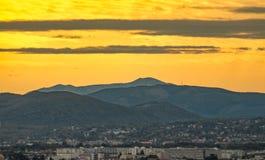 Horizon du sud de Vienne images stock