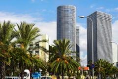 Horizon en Israël Images stock