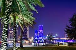 Horizon en rivierkustscènes in Jacksonville Florida stock afbeeldingen