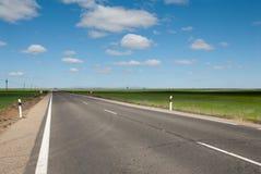 Horizon en weg Stock Afbeelding