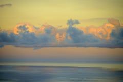 Horizon en wolken Royalty-vrije Stock Afbeelding