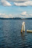 Horizon et cascades 2 de Bellevue Images libres de droits