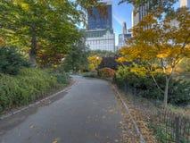 Horizon et Central Park de New York City en automne images stock