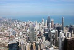 Horizon et constructions de Chicago Image libre de droits