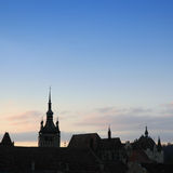 Horizon gothique 3 Photographie stock