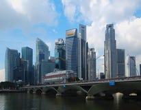 Horizon HDR de Singapour photographie stock