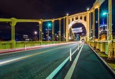 Horizon het Landen van van Pittsburgh, Pennsylvania fron Allegheny acros royalty-vrije stock fotografie