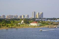 Horizon, het Westenpalm beach, Florida, de V.S. Stock Afbeelding