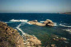 Horizon l'Océan Atlantique Images stock