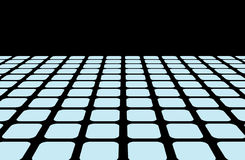 Horizon line grid Royalty Free Stock Images