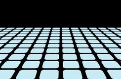 Horizon line grid Royalty Free Stock Images