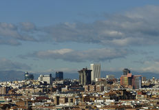 Horizon Madrid Photographie stock