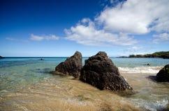 Horizon magnifique à la plage 69 Images libres de droits
