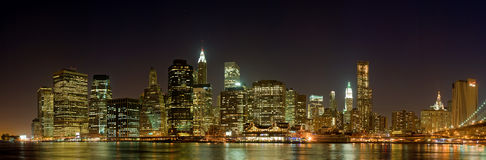 Horizon Manhattan Image stock