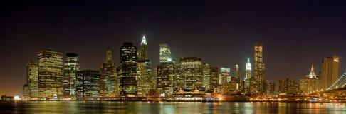 Horizon Manhattan Stock Afbeelding