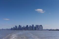 Horizon Manhattan Stock Foto's