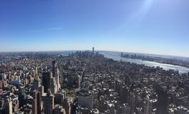 Horizon Manhattan de New York City Photographie stock