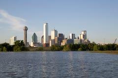 Horizon moderne de Dallas de ville image stock