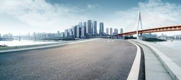 Horizon moderne de ville Image libre de droits