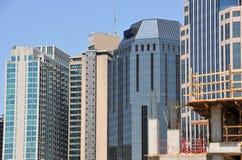 Horizon moderne de ville des Etats-Unis Photo libre de droits
