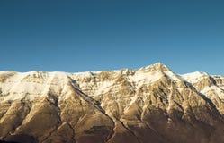 Horizon mountain Stock Photo