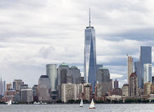 Horizon New York de Manhattan Photographie stock libre de droits