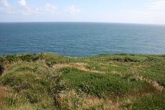 Horizon on the ocean, cork county, ireland Royalty Free Stock Photo
